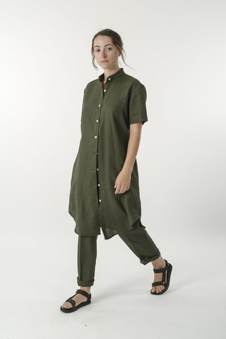 Good Studios Hemp Linen Shirt Dress