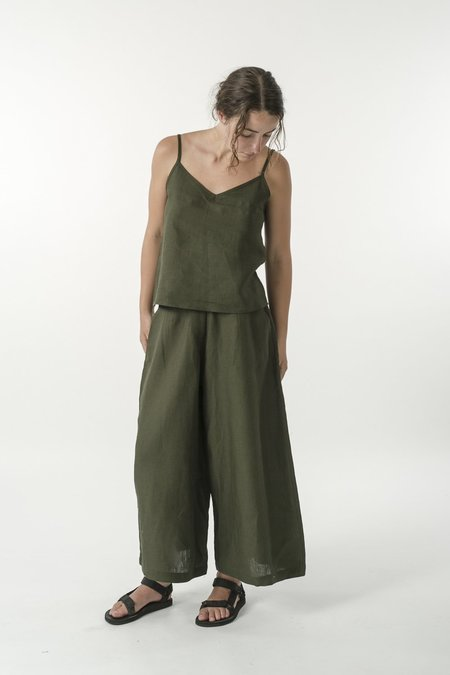 GOOD STUDIOS HEMP LINEN SINGLET TOP