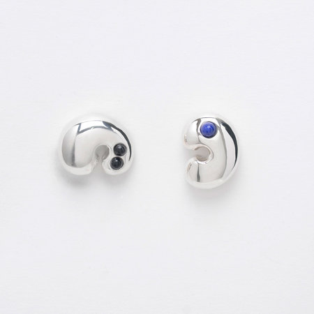 Leigh Miller Sterling Silver Doodad Studs
