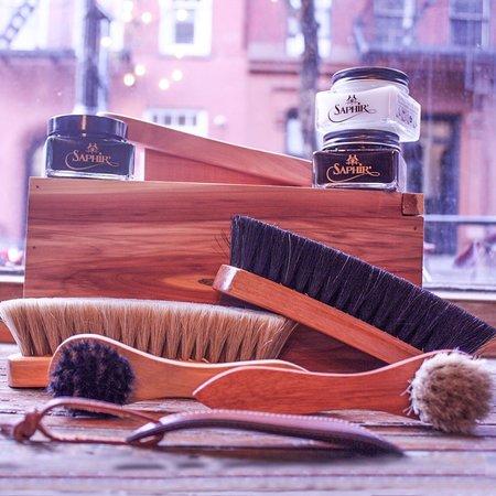 Noah Waxman Shoe Care Kit