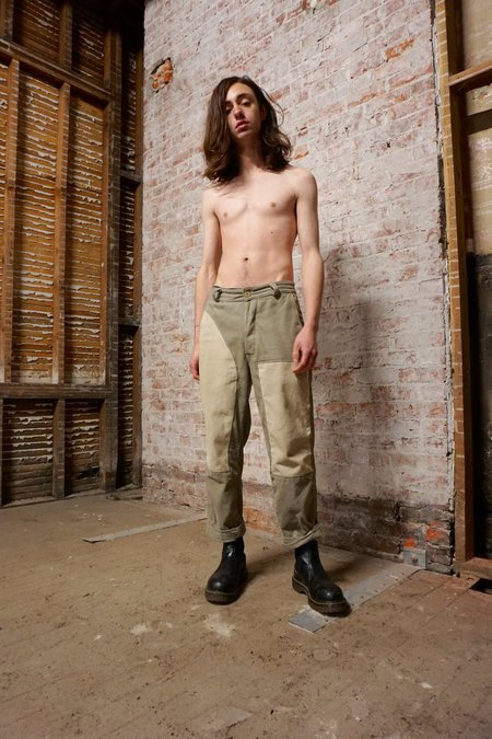 Zed Patch Trousers - Mud