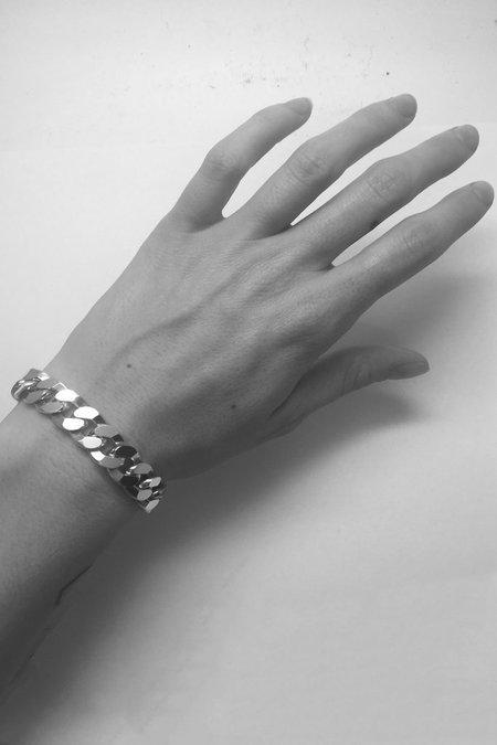 Martine Ali 925 Med Flat Link Bracelet