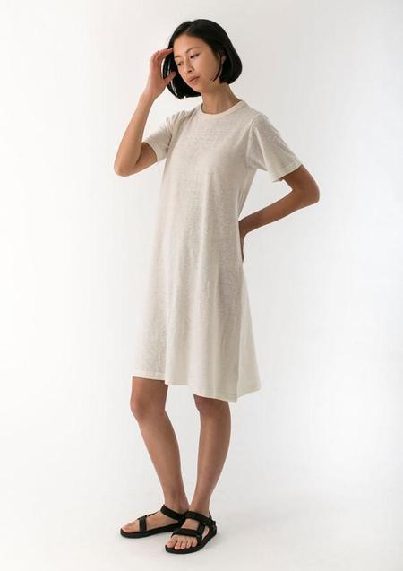 GOOD STUDIOS WOMENS HEMP JERSEY TEE DRESS