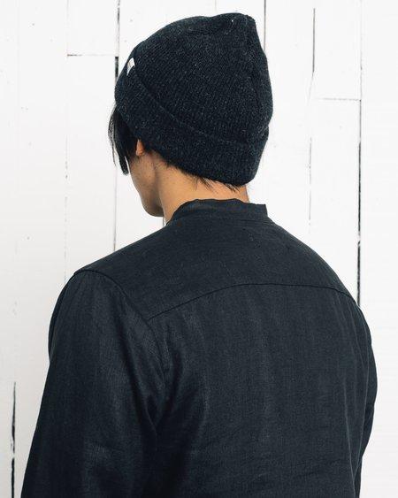 Zed Linen Pull Over - Black