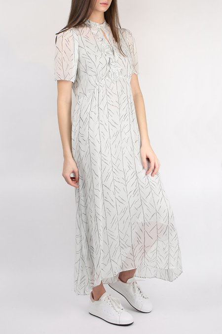 Lee Mathews Farrah Ruffle Dress