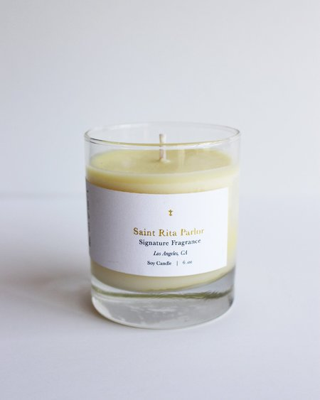 Saint Rita Parlor Candle Signature Scent
