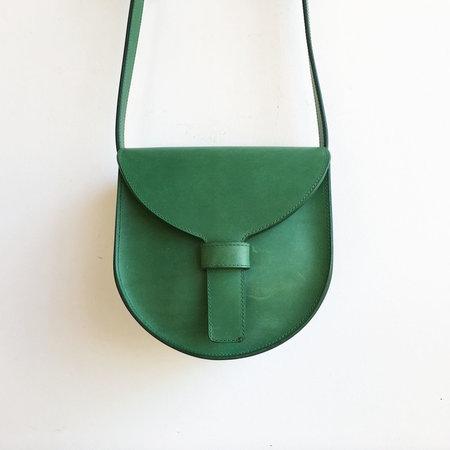 Sara Barner Kelly Green Saddle Bag