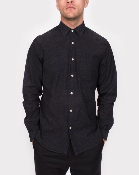 Men's Hope Roy Pocket Shirt - Black Melange