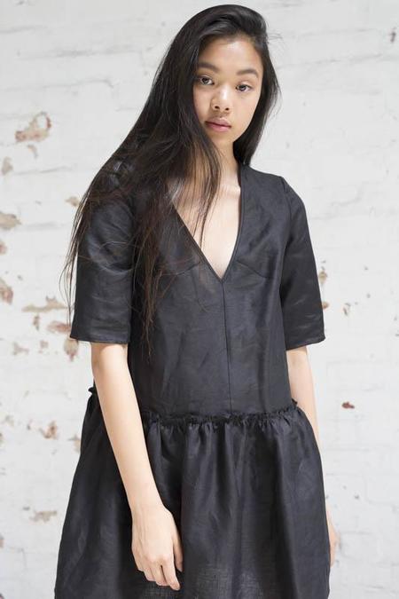 Lois Hazel Black Assemble Dress