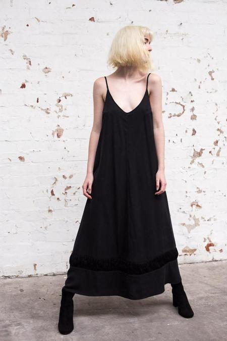 Lois Hazel Black Drift Dress