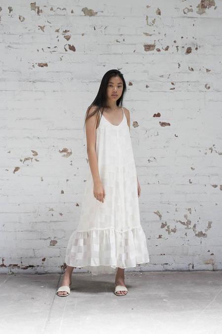 Lois Hazel Silk Gather Dress