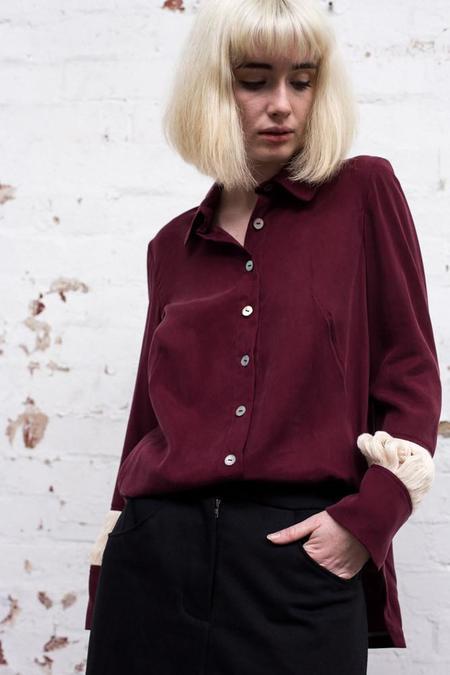 Lois Hazel Wine Float Shirt
