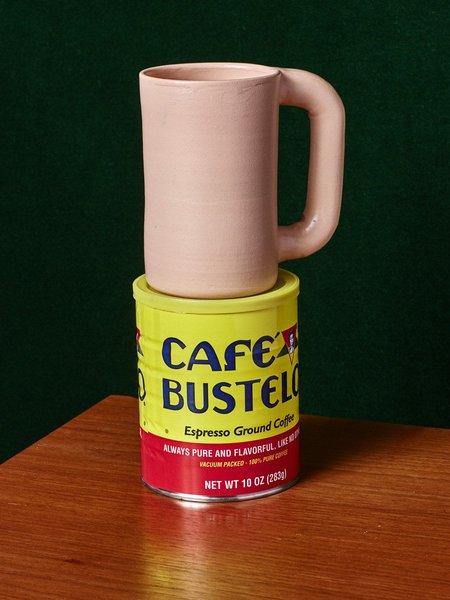 Workaday Handmade Tan Stoneware Mug