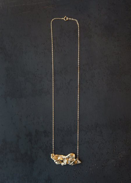 8.6.4 Abstract Necklace - Brass