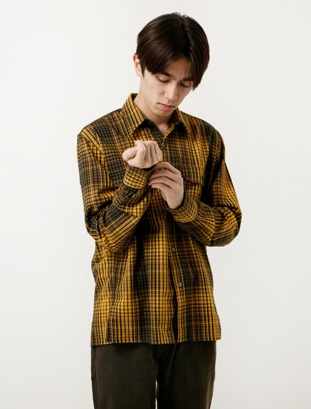 Our Legacy Country Shirt - Gold Check