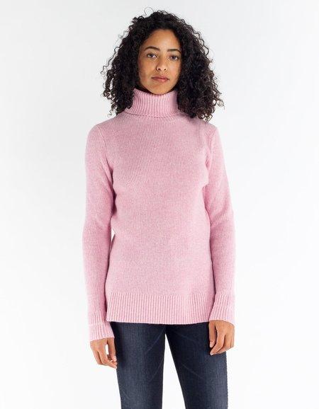 Ganni Mercer Rollneck - Sea Pink
