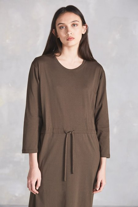 Kowtow Building Block Lounge Dress - Moss
