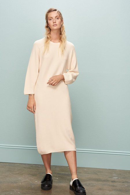 Kowtow Slow Pace Dress - Cream