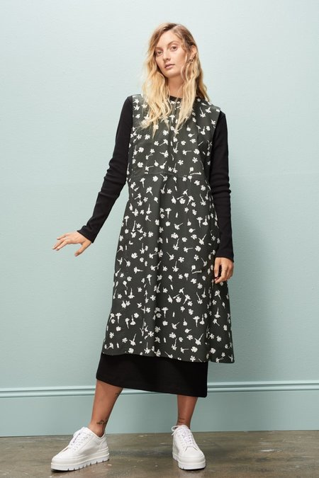Kowtow Studio Dress - Pressed Flower