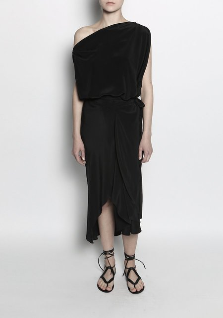 KES Elongated Circular Tie Dress