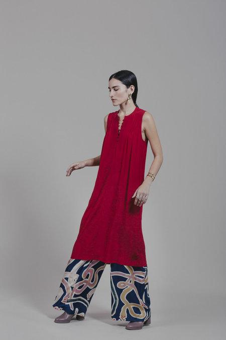 Carleen Warren Midi - Red