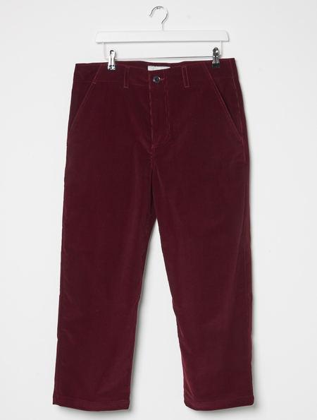 Other Felix Cropped Leg Trouser - Burgundy