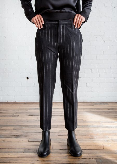 Hope Lobby Trouser Black  Stripe