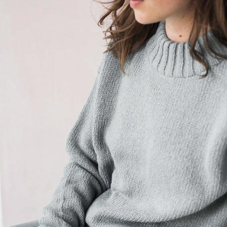 Bare Knitwear Vintage Crew - Oatmeal / Cool Grey