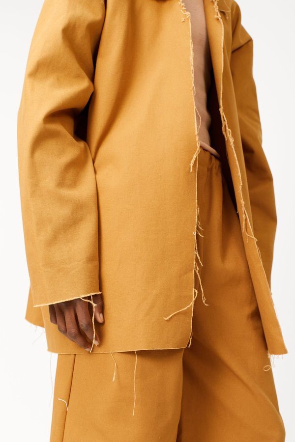 Ashley Rowe 3/4 Coat - Tan