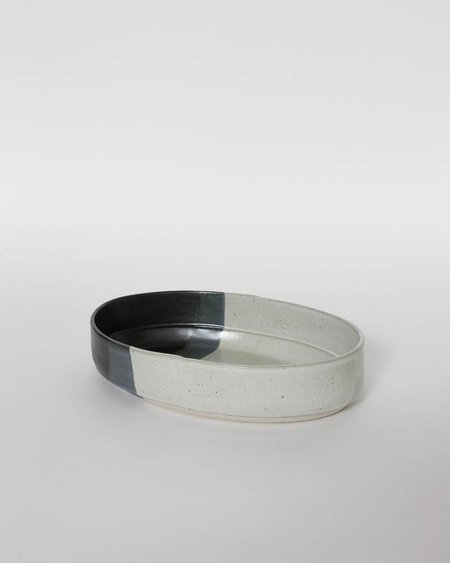 Len Carella x Kettle & Brine Oval Stoneware Bowl - Large