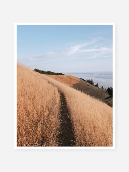 O.N.S Clothing Patric Phillips 'Top of the Trail' Art Print