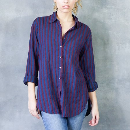 Xirena Beau Shirt In Midnight Wine