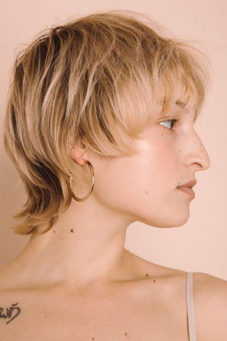 Young Frankk Large Hoop Earrings