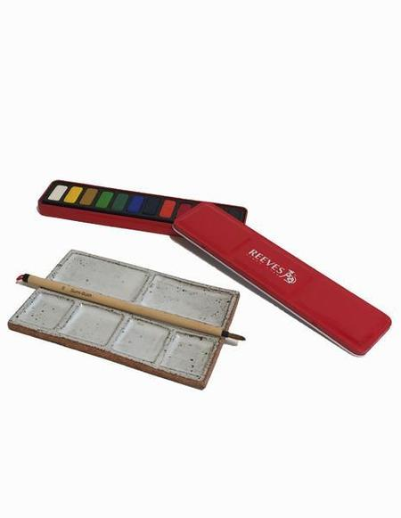 Wills Brewer Ceramic Pallete and Paint Set