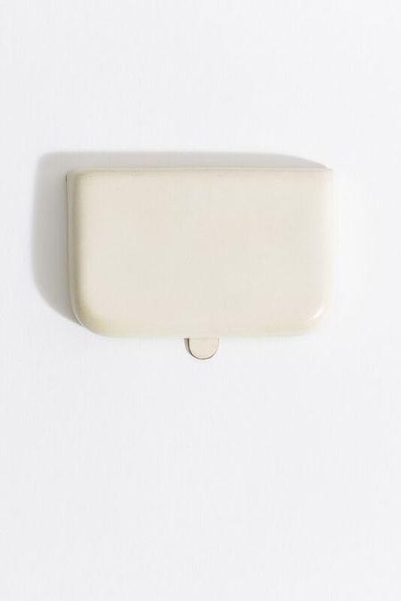 Samuji CARD PURSE in Ivory