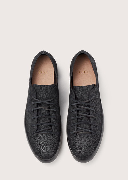 FEIT Hand Sewn Low Black Speckle