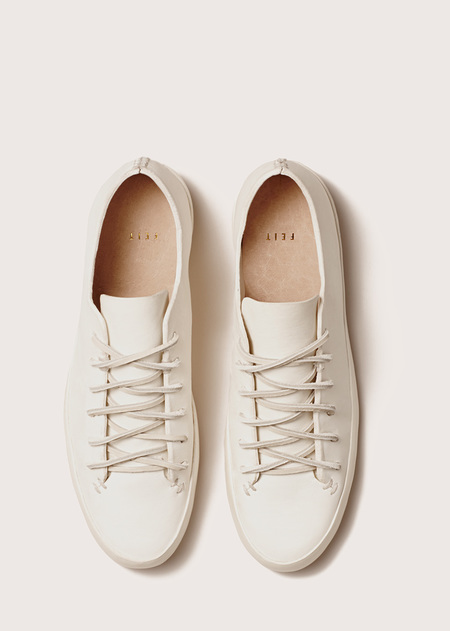 FEIT Hand Sewn Low White