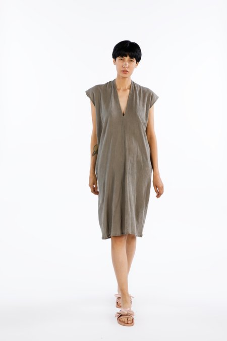 Miranda Bennett Everyday Dress - Gray