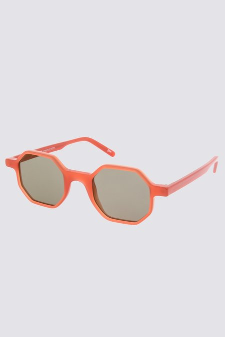 Andy Wolf Acetate Alfons Sunglasses - Red