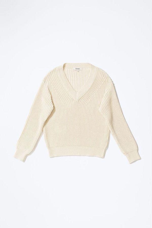 Samuji BIJAN Sweater  in Ecru