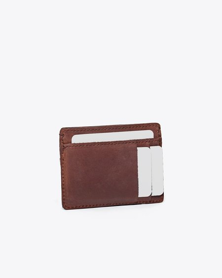 Nisolo Card Holder Wallet - Brown