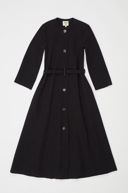Samuji BUNMELI COAT in Black