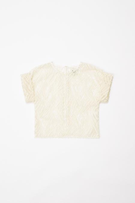 Samuji FION shirt in Ecru