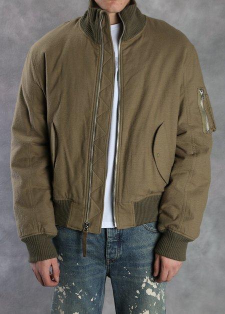 Helmut Lang High Collar Bomber Jacket