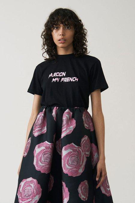 Ganni Harway Pardon My French T-shirt