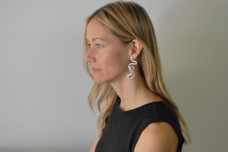 Luiny As One Earrings - Sterling Silver