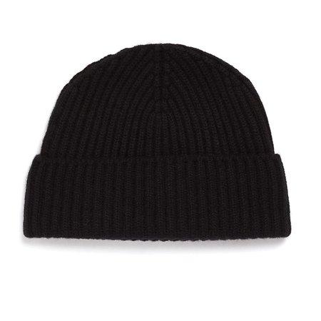 Unis Cashmere Knit Hat - Black