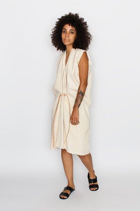 Miranda Bennett Tribute Dress Denim in Natural