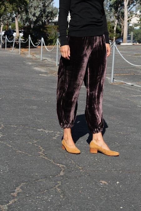 Lindsay Robinson Velvet Joggers