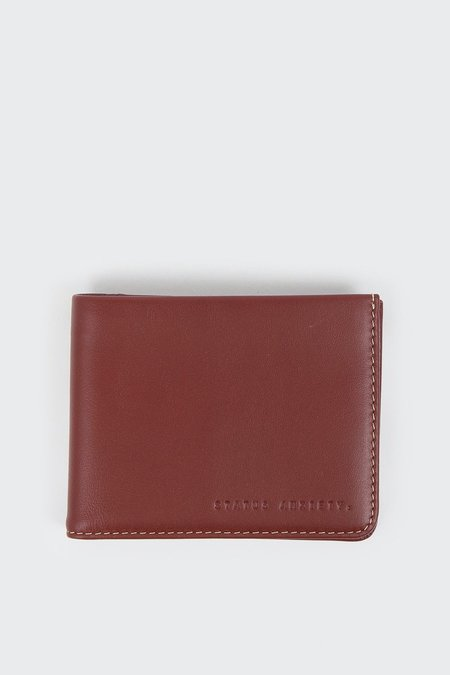 Status Anxiety Alfred Wallet - Cognac
